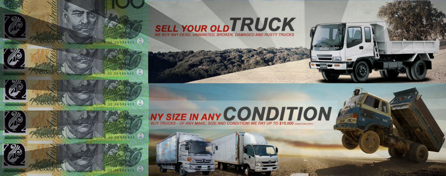 Selling Dead Commercial Trucks in Sydney